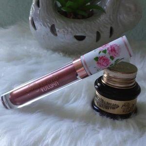 Pretty Vulgar gel eyeliner+ liquid liquid lipstick